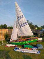 Cadet Sailing Dinghy