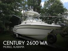 2004 Century 2600 WA