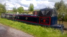 Arabesque - 57' Semi Trad Stern Narrowboat