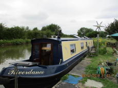 River Dance 57' Stern Cruiser Narrowboat COLLINWOOD  ORCHARD
