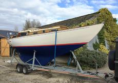 26ft HOLMAN BERMUDIAN SLOOP - 1962 - Excellent example