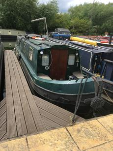 "NARROWBOAT ""KENZI"" 42ft SEMI TRAD"