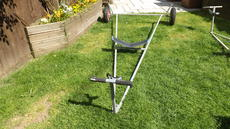 LAUNCHING TROLLEY FOR SAILING DINGHY
