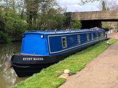 55ft w  transferable residential Central London mooring -recent survey