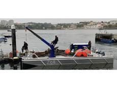 Auction: Van Es Marine Services workboat pontoon (Netherlands)
