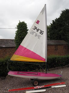 Topper for sale - great 1st boat!