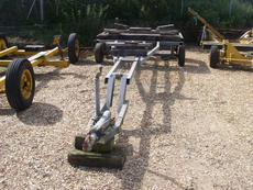 25` twin axle braked boat trailer