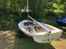 Wayfarer Mark IV set up for cruising in beautiful condition