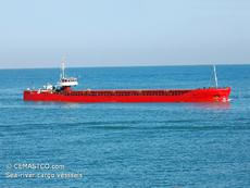 Sea-river general cargo vessel 3100 dwt / 1982 blt for sale