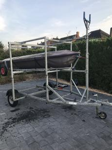 Triple   Double Stack Dinghy Trailer
