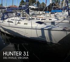 1986 Hunter 31