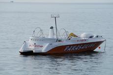 Motor Boat type Parasailing