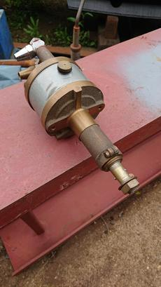 hydraulic steering pump and actuator arm