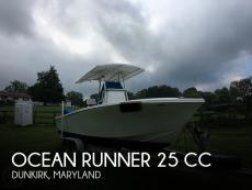 2004 Ocean Runner 25 CC
