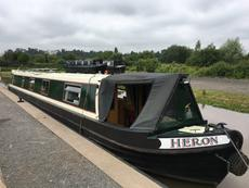 Lovely 57ft Trad stern narrowboat