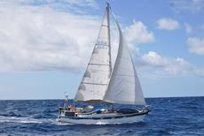 Hallberg Rassy 38 in Tahiti