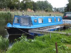 Narrow boat Jennifer Ann