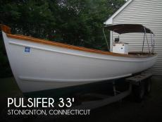 1997 Pulsifer Hampton Downeast Lobster Boat
