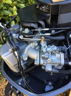 Yamaha F6 CMHS - 6HP short-shaft 4-stroke, current model