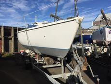 Hunter Sonata 7 lifting keel + trailer