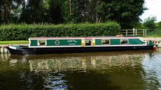 55ft Cruiser Stern Narrow Boat