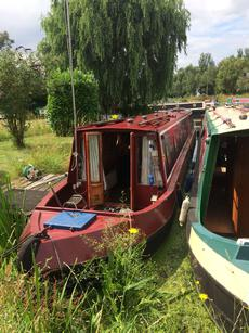 55ft Narrowboat semi traditional