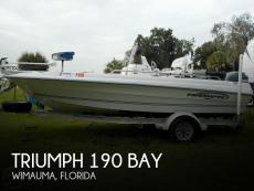 2006 Triumph 190 Bay