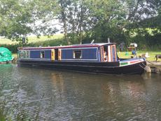 GT Boatbuilders 50' Narrowboat