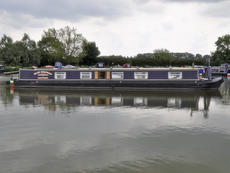 BLUE MISCHIEF 60ft 0in semi-trad narrowboat with 4 berths