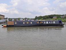 KBO 62ft 1in semi-trad narrowboat with 4 berths