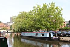 A 57 foot traditional stern Narrow Boat