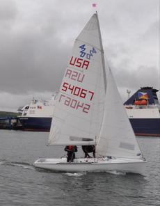 420 Nautivela Sailing dinghy