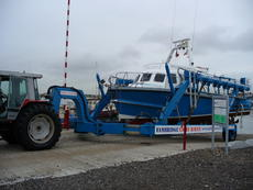 WISE SP18 Slipway hoist & tractor