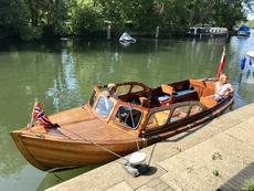 22ft classic day boat