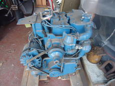 Lister Marine diesal engine and gerabox