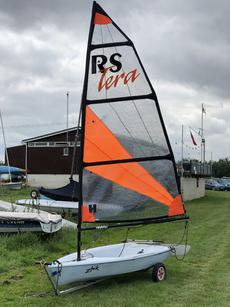 RS TERA  Sail NO: 438 with SPORTS SAIL