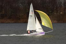 RS 400 sail number 1714