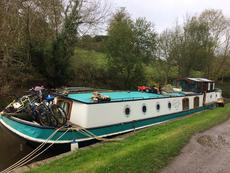 Lovely Dutch Barge. Rebuilt and refitted