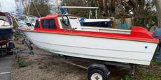 Ace 15ft Fishing   Sports Motor Boat