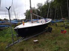 Wanderer Dinghy Sailing Boat + Trailer
