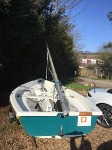 Comet Versa Dinghy with combitrailer