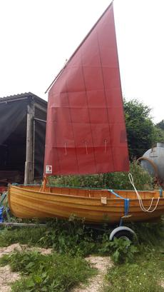Traditional Clinker Built Puffin