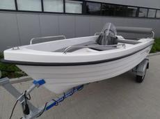 Online auction: Consoleboat 410 Sport + Vida 650kg boattrailer
