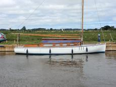 Classic Broads Sailing Cruiser