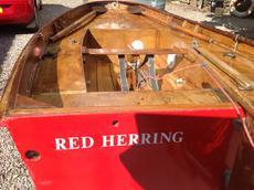 Vintage Mirror dinghy sail number 131