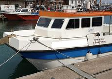 11m Blyth Catamaran, with A frame & accommodation for sale