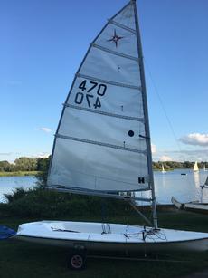 Super nova Mark 1 sail no 470