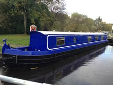 "NARROWBOAT ""CISSY-MO"" 57ft SEMI-TRAD"