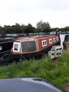44ft ongoing project narrow boat