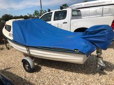 14ft Dinghy with Cuddy and 5hp Honda engine